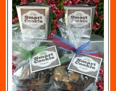 smart cookie gift idea - caramelpotatoes.com free printable