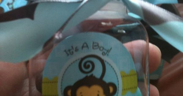 Monkey Boy - Baby Shower Theme Ideas