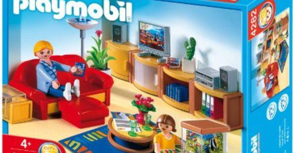 Pour p tronille playmobil 4282 jeu de construction for Salle a manger playmobil city life