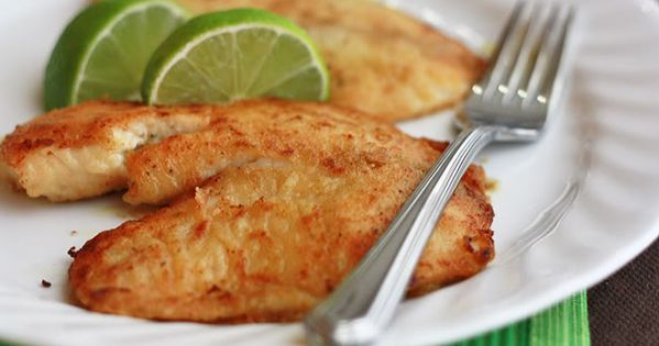 Honey Lime Tilapia (one of my favorite recipes)