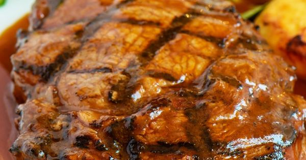 weight watchers steak with homemade spice rub and barbecue sauce recipe weight watchers. Black Bedroom Furniture Sets. Home Design Ideas