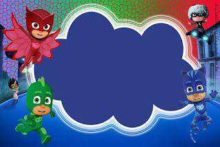Kit De Super Héroes En Pijamas Para Imprimir Gratis En 2020