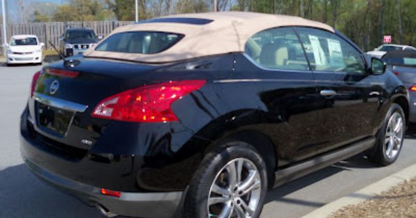 2012 Nissan Murano Cross Cabriolet In Asheville Nc Contact Robthecarguy Convertible Nissan Murano Nissan Dream Cars
