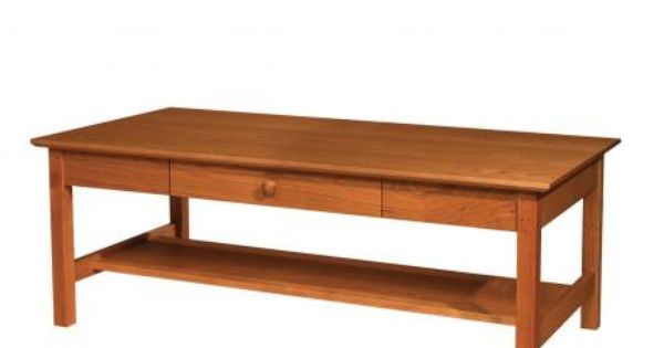 Shaker Coffee Table The Joinery Portland Or Living Room Pinterest Joinery Cherry