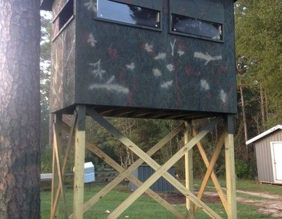 Deer Hunting Shooting Houses Projects To Try Pinterest