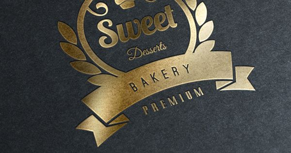15 Bakery Cupcakes and Cakes Labels & Badges Logos by Design District,