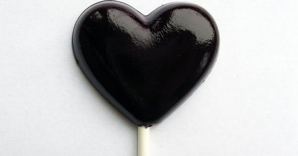 Black Heart Shaped Candy http://www.pinterest.com/BonnieWPhotos/