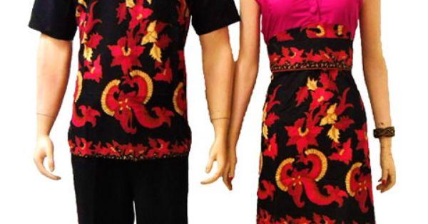 sarimbit couple modern online pink   Modern Batik Sekar   Pinterest ...
