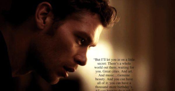 Vampire Diaries Love Quotes Klaus klaus quotes - ...