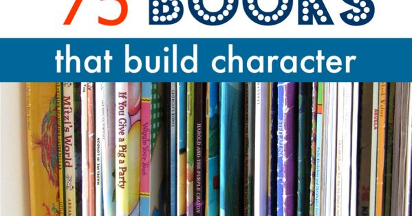 List of picture books that have positive messages and valuable character building