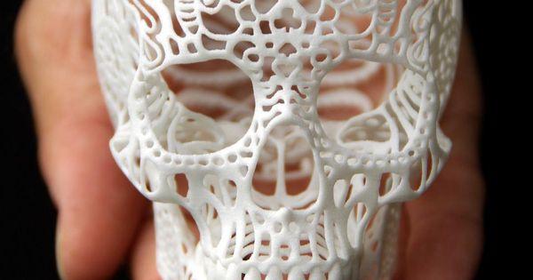Crania Anatomica Filigre - Filigree Skull by Josh Harker, $95
