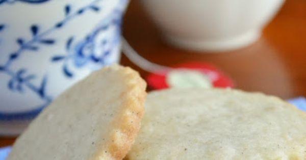 Tea cookies, Vanilla and Beans on Pinterest