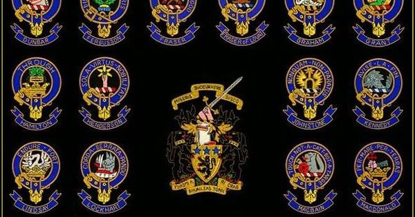 Scottish Crests. Christmas present idea.