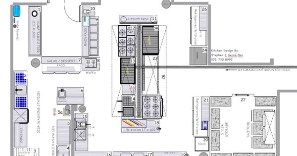 Free Blueprint For Restaurants Kitchen Restaurant Kitchen Design Layouts Blue Prints