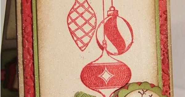 Christmas: baubles, deer