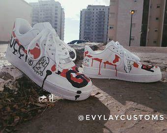 Nike Air Force 1 Guccu ASAP | Nike ayakkabılar, Ayakkabılar