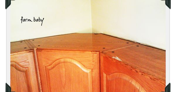 How to clean your cupboard tops finally a way to clean for Best cleaning solution for greasy kitchen cabinets