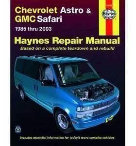 Haynes Repair Manual For Chevy Astro Van Number 24010 Review