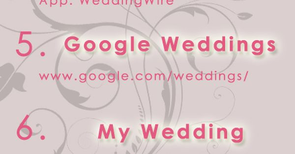 Top Wedding Planning Websites Apps of 2013! | Revolutionizing the 21st century