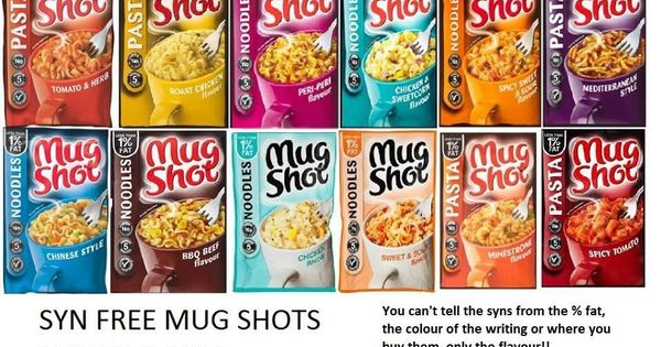 Slimming World Syn Free Mug Shots Jan 2014 Slimming