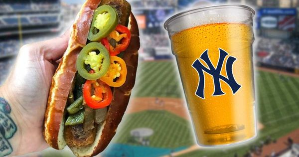 The Complete Guide To Vegan Food At Yankee Stadium Vegan Recipes Vegan Recipes Healthy Vegan Beer