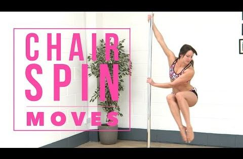 Pole Dance Moves From A Chair Spin Youtube Pole Dance Moves Pole Dancing Videos Pole Dancing