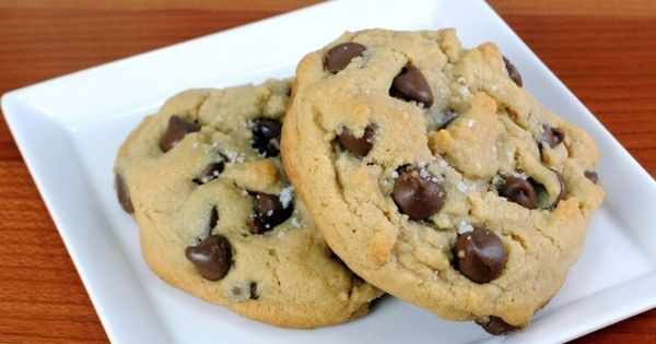 Chocolate Chip Cookies Topped With Sea Salt | Food I'm going to try ...