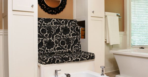 Bathrooms with Unique Features | DIY Bathroom Ideas - Vanities, Cabinets, Mirrors
