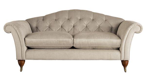 Farnborough Upholstered Large 2 Seater Sofa Laura Ashley