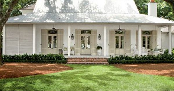 Louisiana House Exterior L House Exterior House With Porch White Exterior Houses