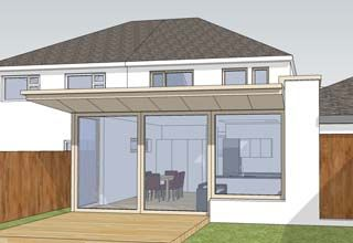Extension Ideas For Semi Detached Houses Google Search House Extensions Flat Roof Extension Room Extensions
