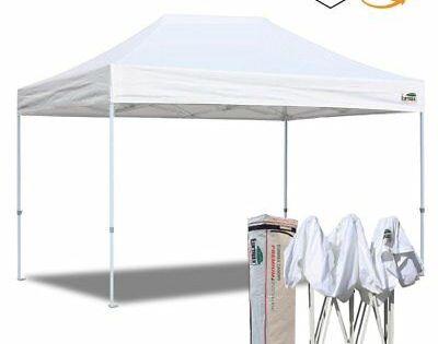 Advertisement Ebay Waterproof Ez Pop Up Canopy 10x15 White Patio Gazebo Instant Trade Show Tent Gazebo Instant Canopy Party Gazebo