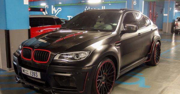 Bmw X6 Hamann Tycoon Evo M The Batmobile Was Spotted In Dubai Bmw Bmw X6 Batmobile