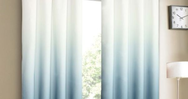 Amazon Com Blue Ombre Curtains 30 For The Home