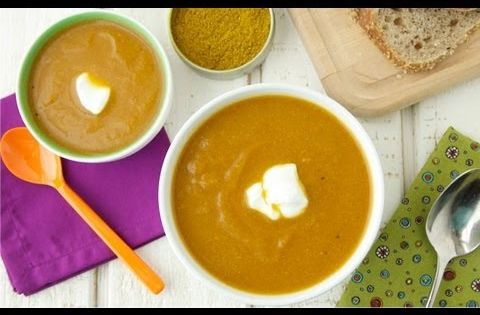 Spiced Carrot Cauliflower Soup Video_ New Year New You ...
