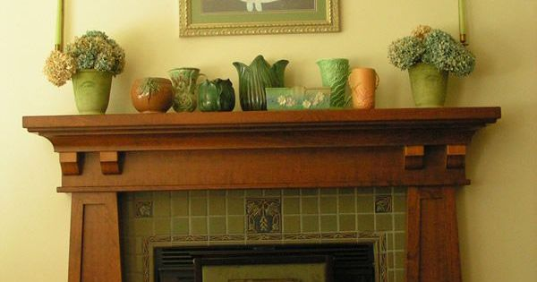 Mission Style Fireplace Mantel Contemporary Creative