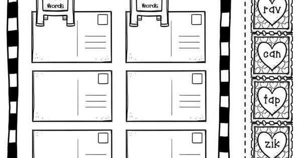 cut and paste worksheets for kindergarten