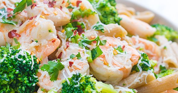 Shrimp And Broccoli Penne Recipe Penne Broccoli And Pasta