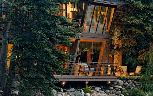 Twilight House, Aspen, Colorado via Interesting Places