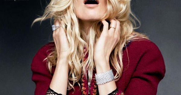 Supermodel Claudia Schiffer for Harper's Bazaar Spain
