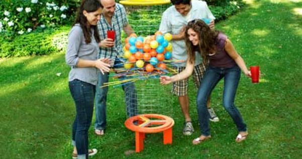 Giant Kerplunk Game Instructions For Backyard Fun Entertaining Ideas Pinterest Awesome