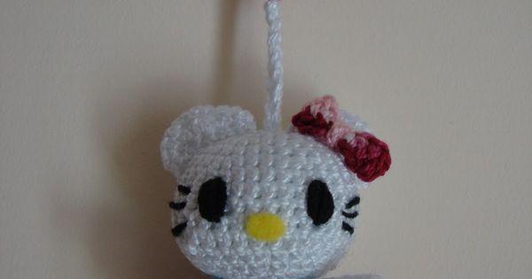 Hello Kitty Kimono Amigurumi Patron : Hello Kitty Mini Amigurumi ~ Patron Gratis en Castellano ...