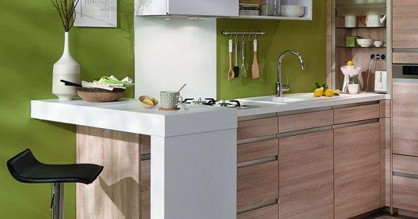 Un coin repas am nag en angle pour une petite cuisine studio kitchens and kitchen design - Tafel petite cuisine ...