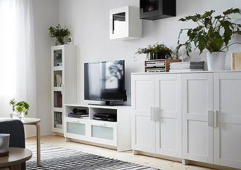Brimnes Living Room Series Idei Domashnego Dekora Belaya Mebel