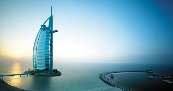 Burj al Arab Hotel, Dubai, United Arab Emirates, by Raymond Meier