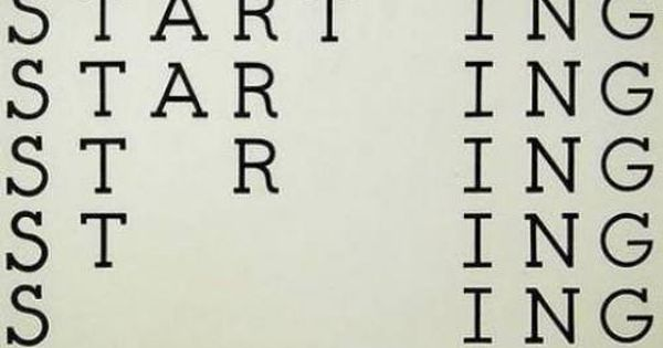 startling - the only 9-letter word in the english language where you