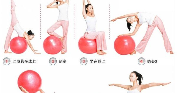 Workout at home when my yoga teacher is on holiday for Housse ballon yoga