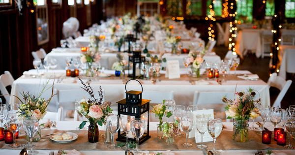 lantern centerpieces wedding