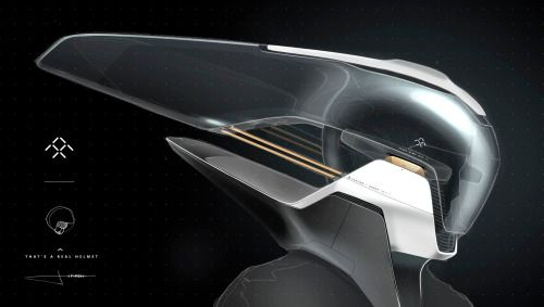 Gashetka 2016 Faraday Future Helmet Design By Sydney Transportation Design Helmet Design Automotive Design