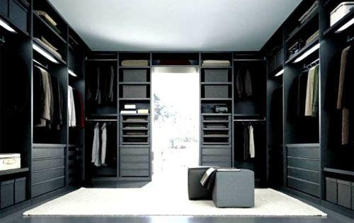 Black And White Design Walk In Closet Walk In Closets Pinterest Hus